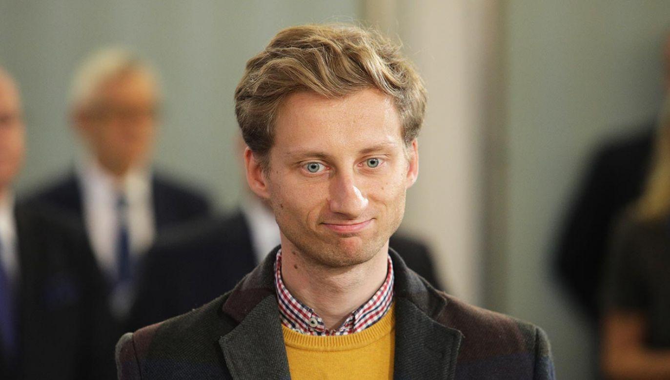 Franciszek Sterczewski (fot. Forum/Andrzej Hulimka)