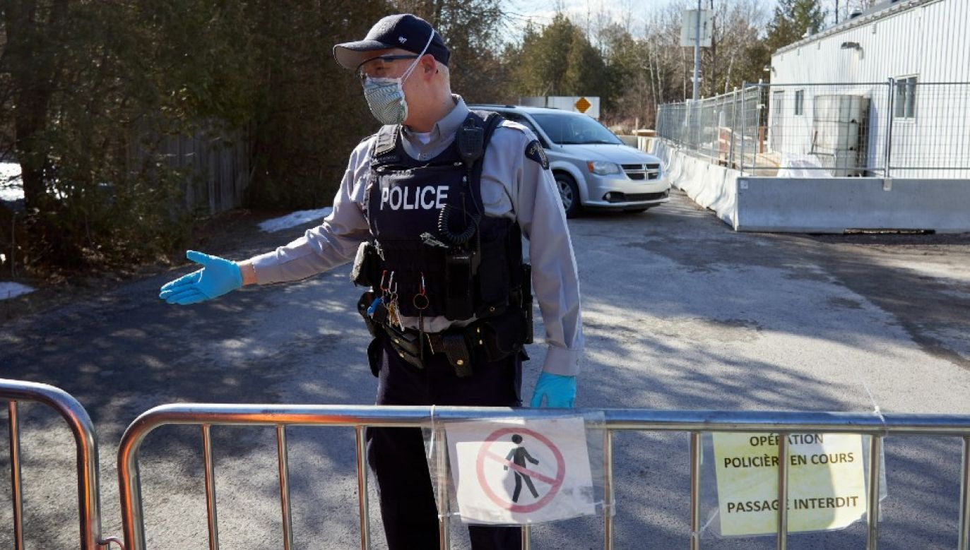Kanada zmaga się epidemią (fot. PAP/EPA/ANDRE PICHETTE)