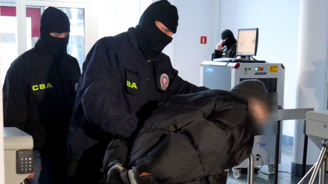 CBA zatrzymało ważnego działacza PSL na Podkarpaciu i byłego współpracownika (fot. cba.gov.pl)