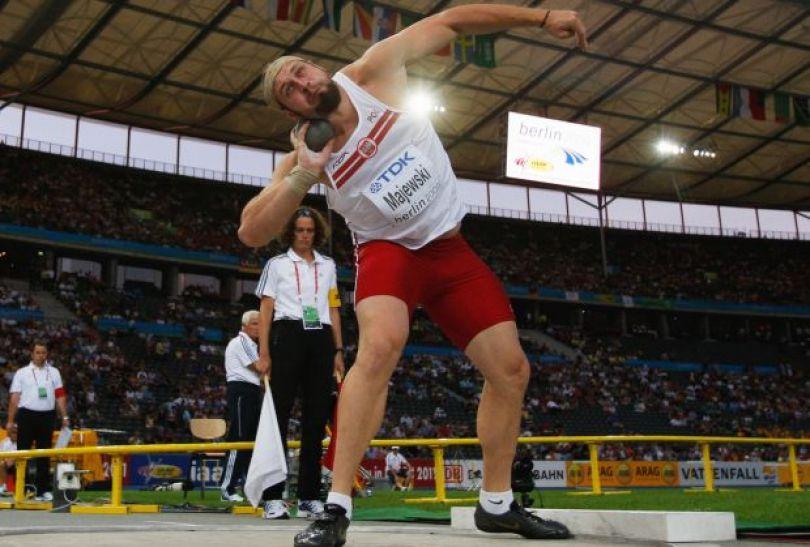 Tomasz Majewski – pchnięcie kulą (fot. Getty Images)