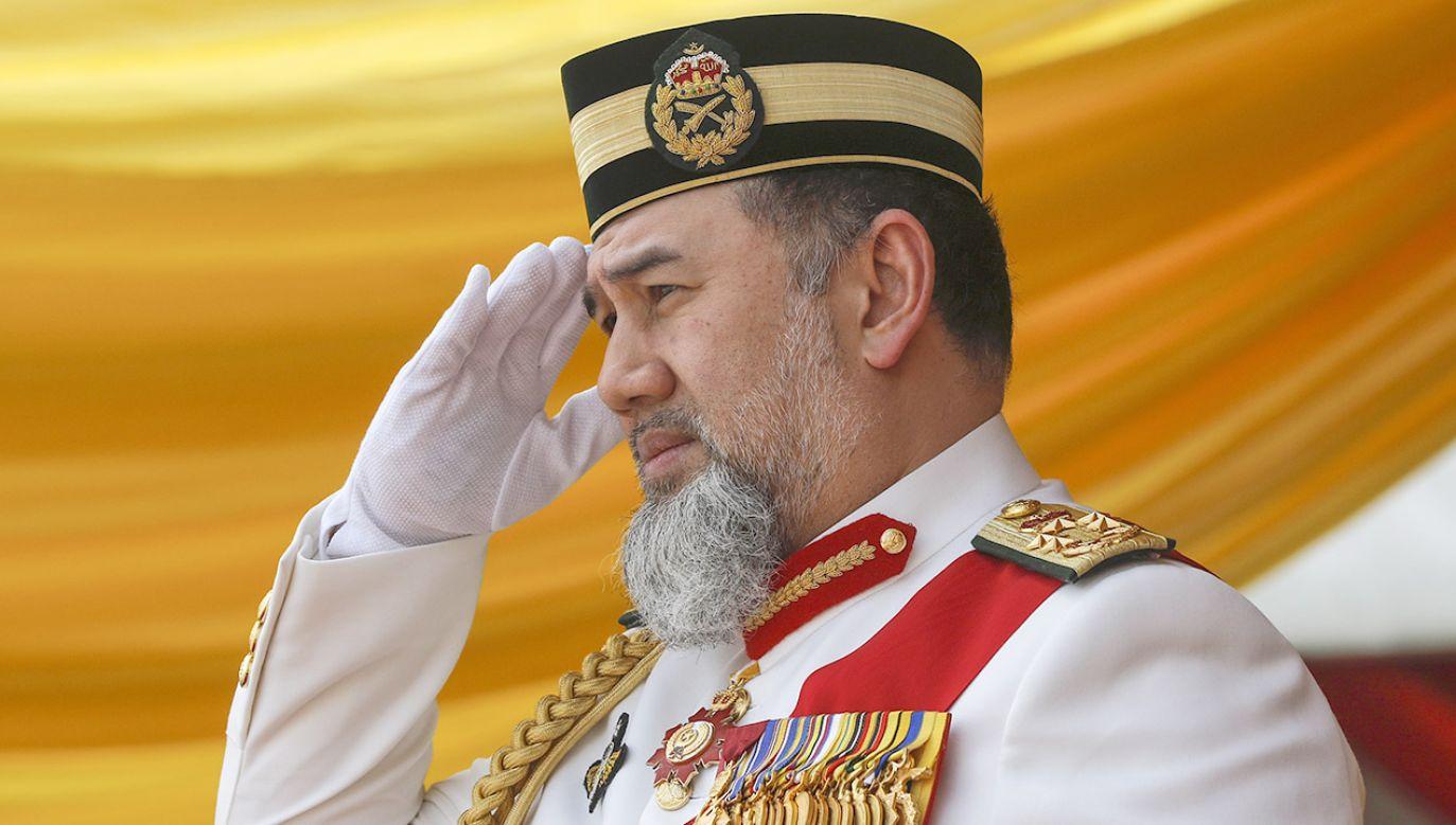 Była miss Moskwy i były król Malezji rozwiedli się po kilku miesiącach (fot. PAP/ EPA/AHMAD YUSNI)