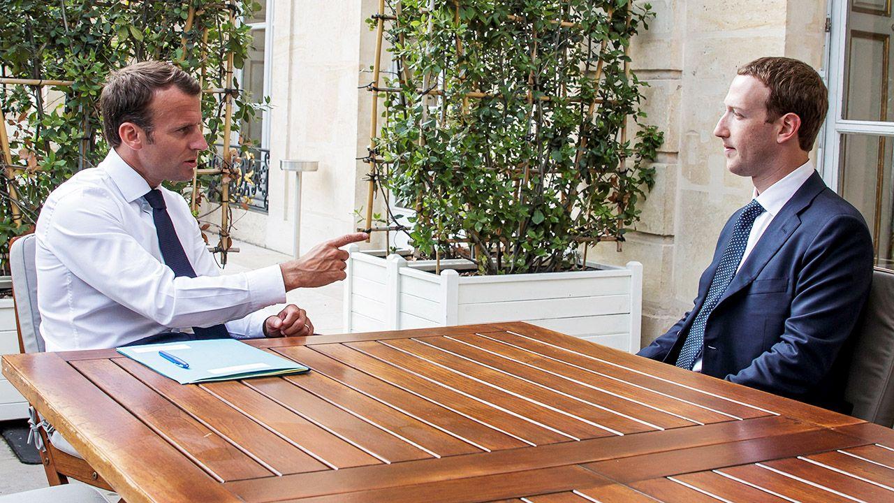 Właściciel Facebooka pozytywnie ocenia przepisy, których stosowanie planują francuskie władze (fot. Christophe Petit Tesson/Pool via Reuters)