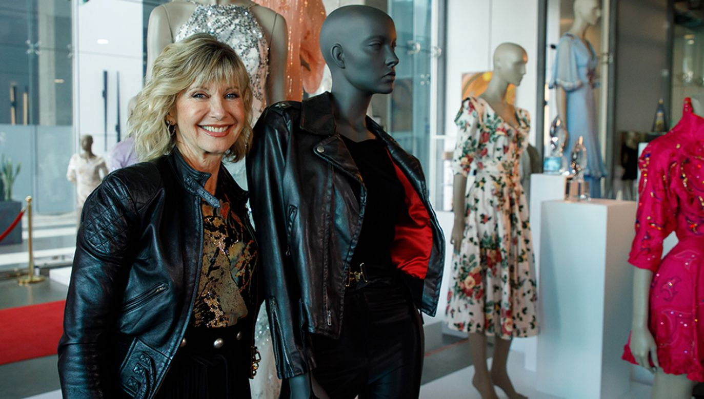 Olivia Elton-John od lat zbiera fundusze na walkę z rakiem (fot. PAP/EPA/EUGENE GARCIA)