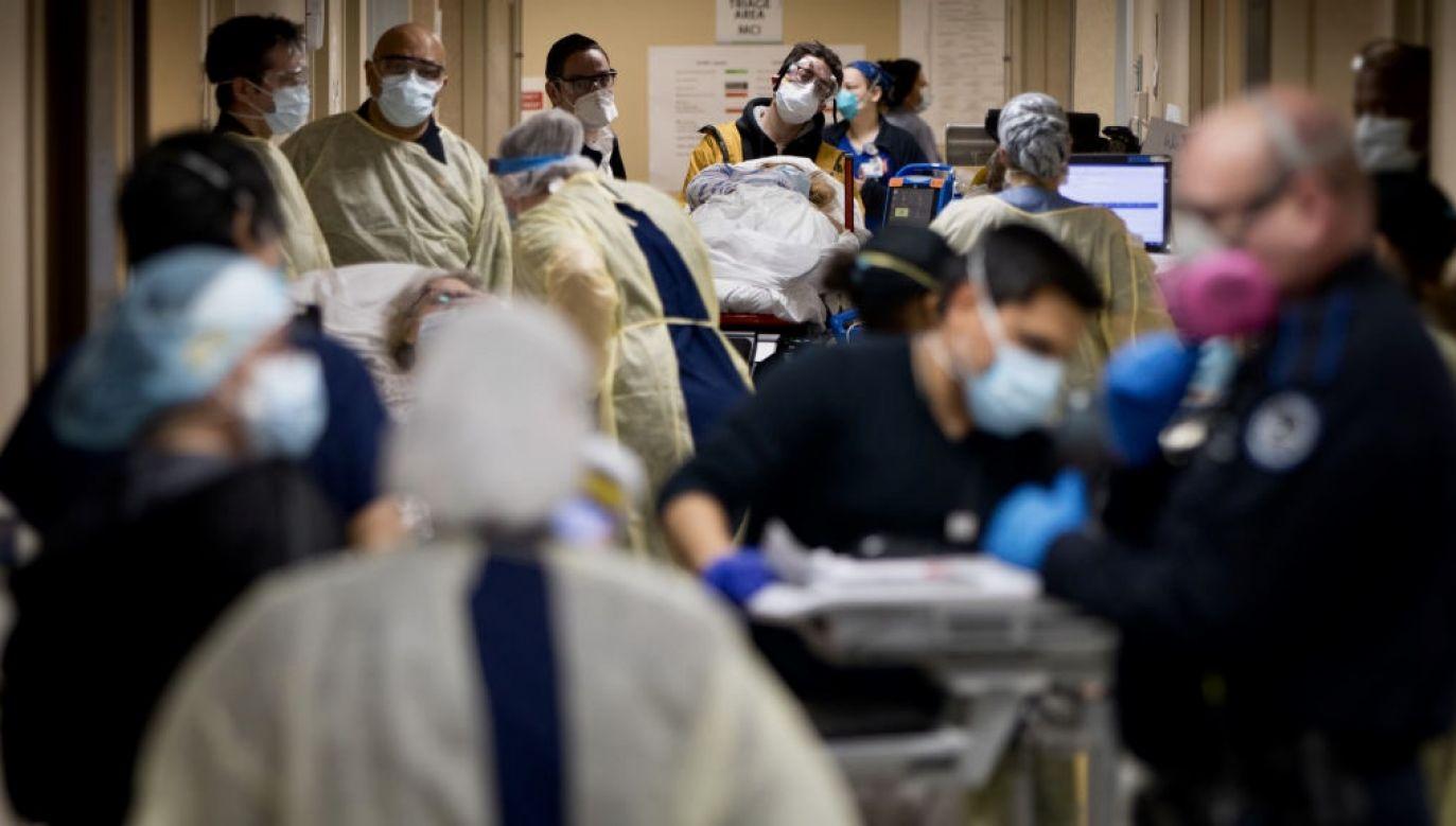 Atak wywołał ogromny chaos (fot. Jeffrey Basinger/Newsday via Getty Images)