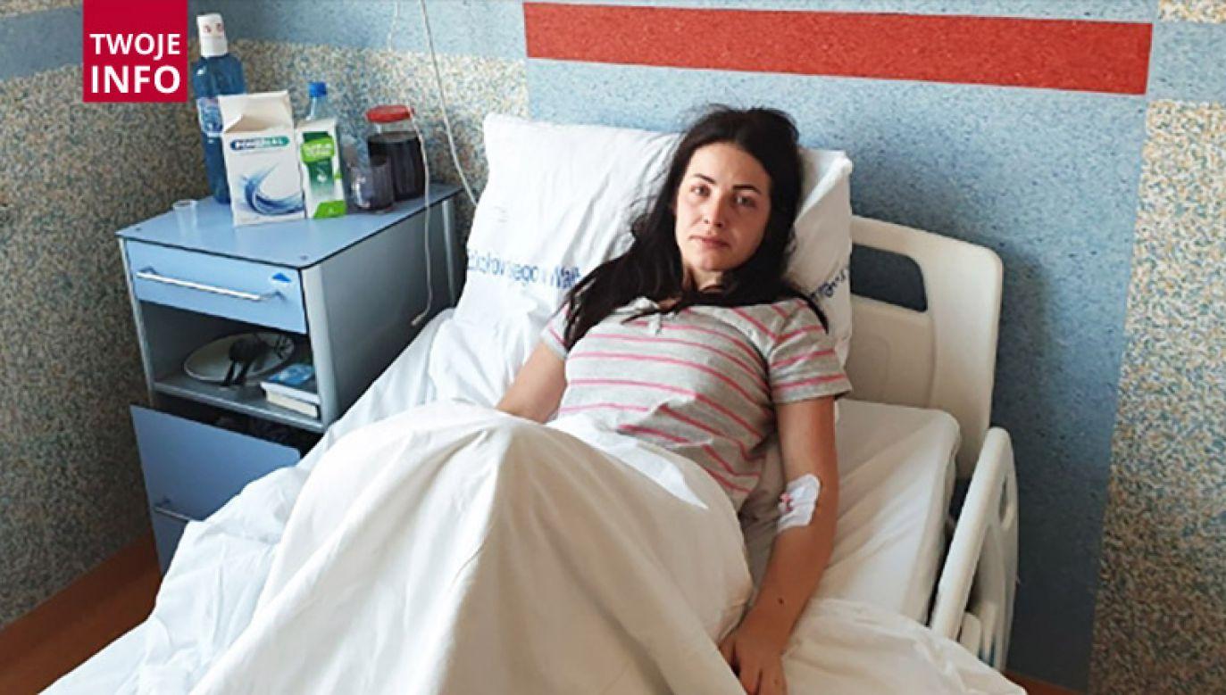 U 29-letniej Hortensji Bystrzyckiej z Wałbrzycha zdiagnozowano ostrą białaczkę szpikową (fot. Twoje INFO)