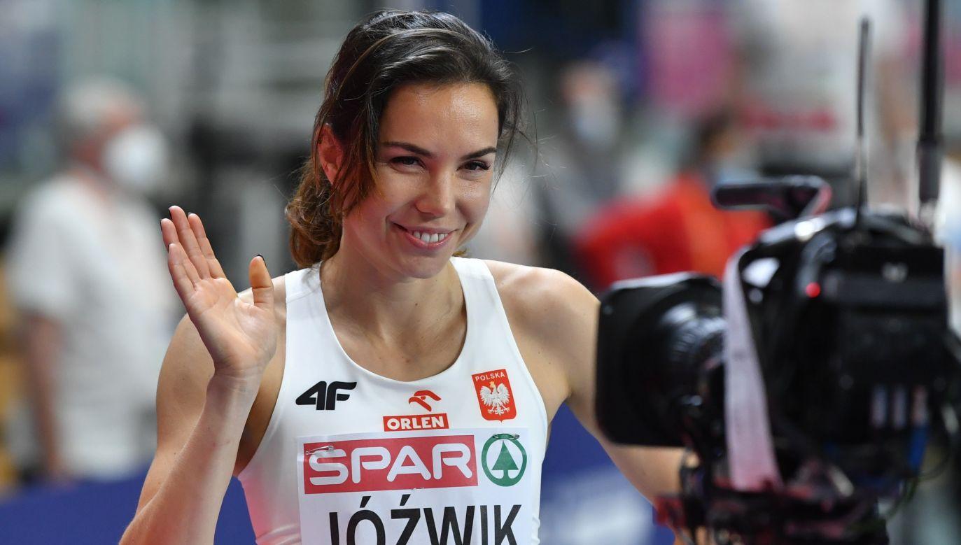 Joanna Jóźwik wróciła do wysokiej formy po kontuzji (fot. PAP/Adam Warżawa)