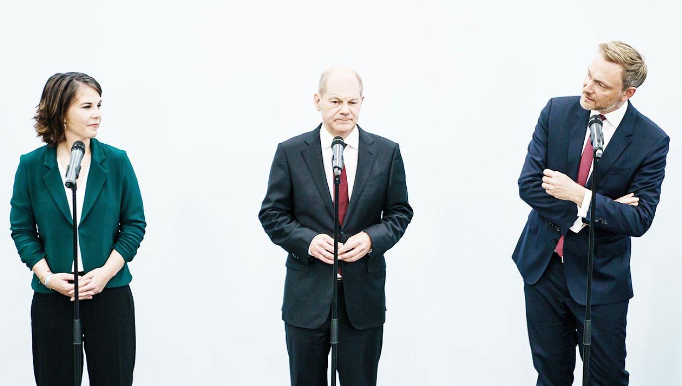 Tworzy się koalicja rządowa w Niemczech (fot. PAP/EPA/CLEMENS BILAN)