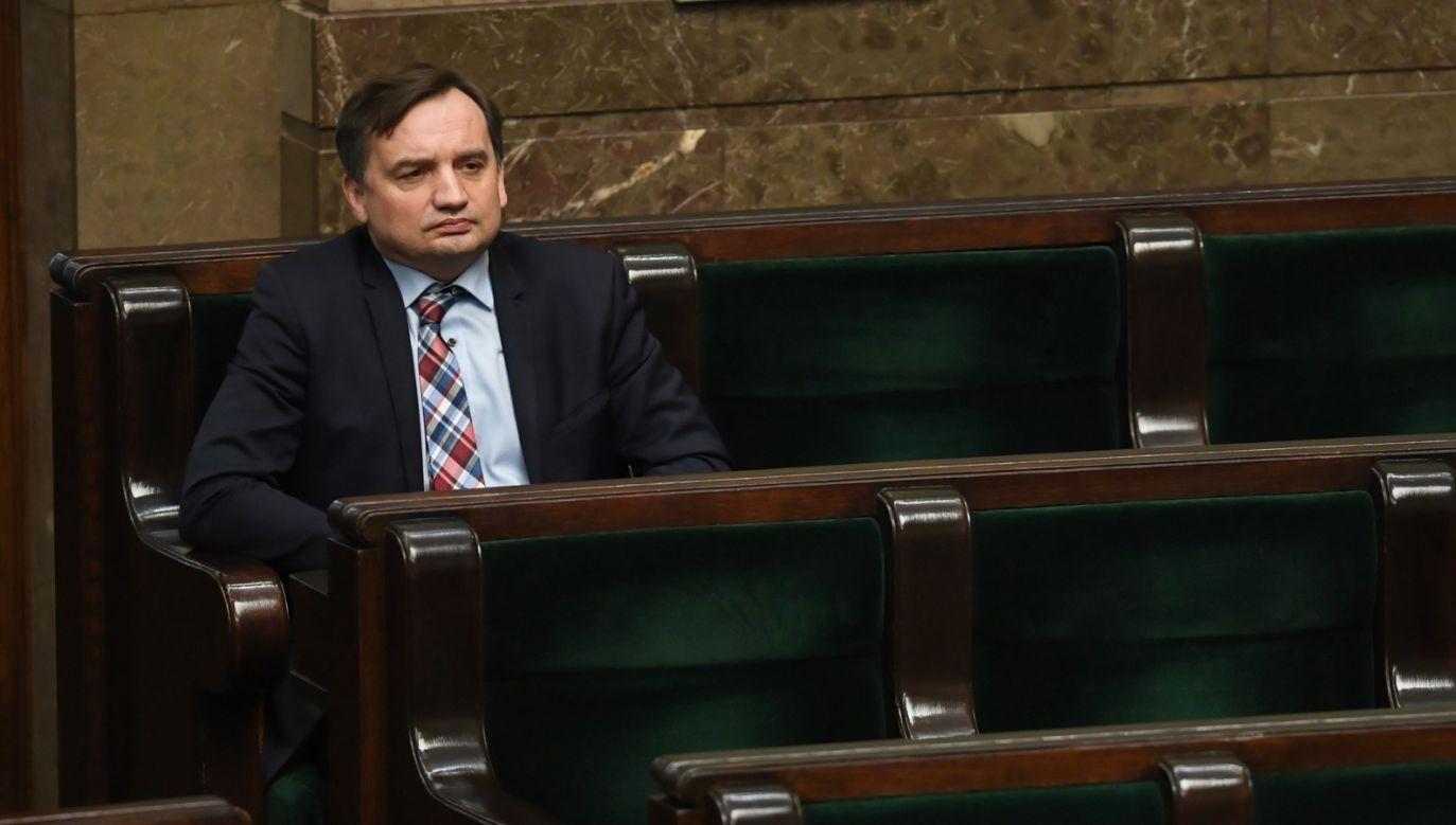 Zbigniew Ziobro (fot. PAP/Radek Pietruszka)
