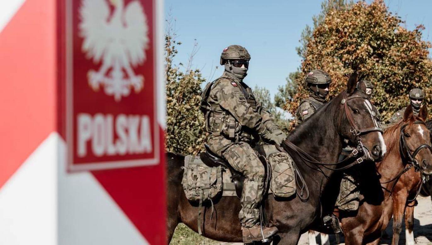 WOT wspiera Straż Graniczną w ochronie granic RP (fot. WOT)