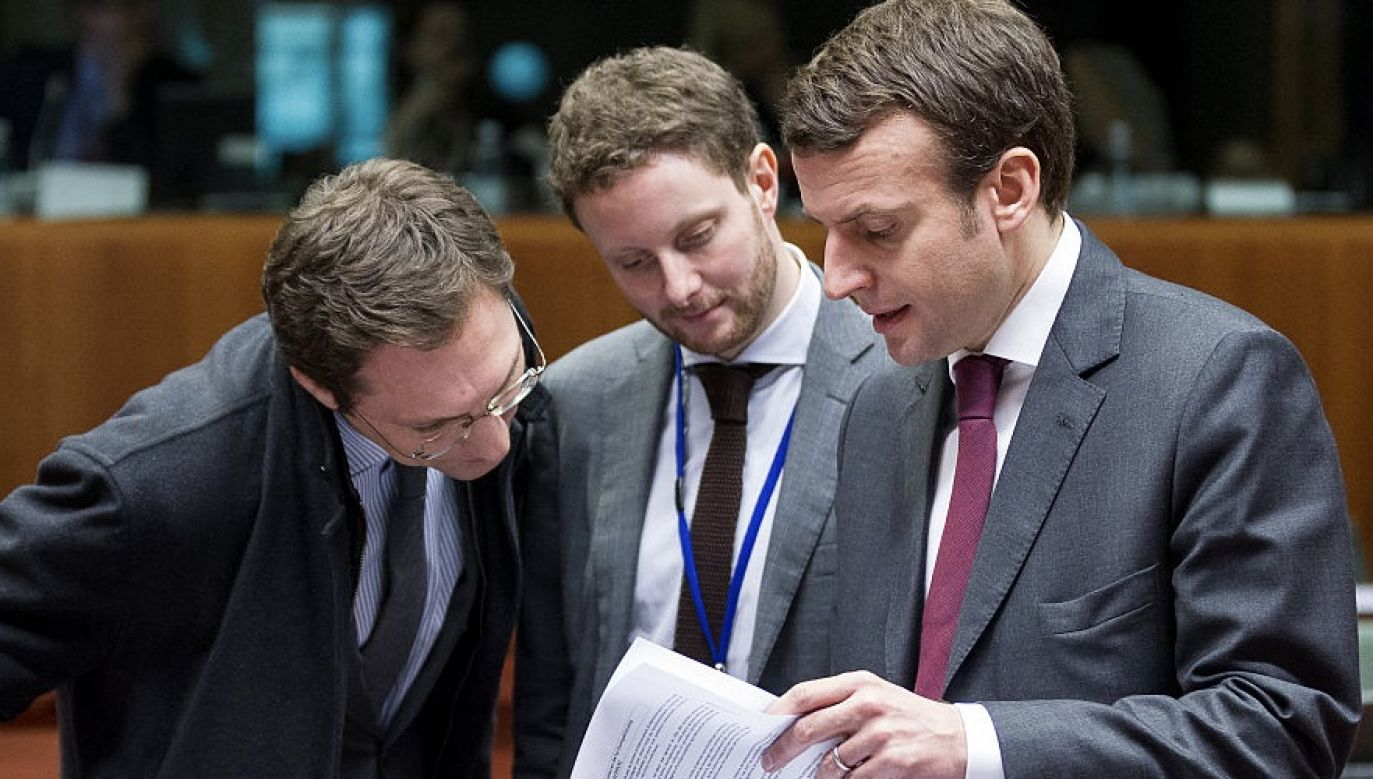 Francuski minister chce połączyć praworządność z dostępem do pomocy UE w związku z koronawirusem (fot. Thierry Tronnel/Corbis via Getty Images)