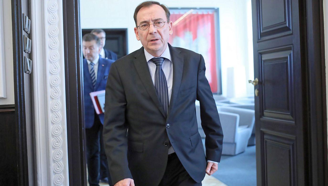 Prezydent Andrzej Duda powoła w środę Mariusza Kamińskiego na szefa MSWiA (fot. PAP/Leszek Szymański)