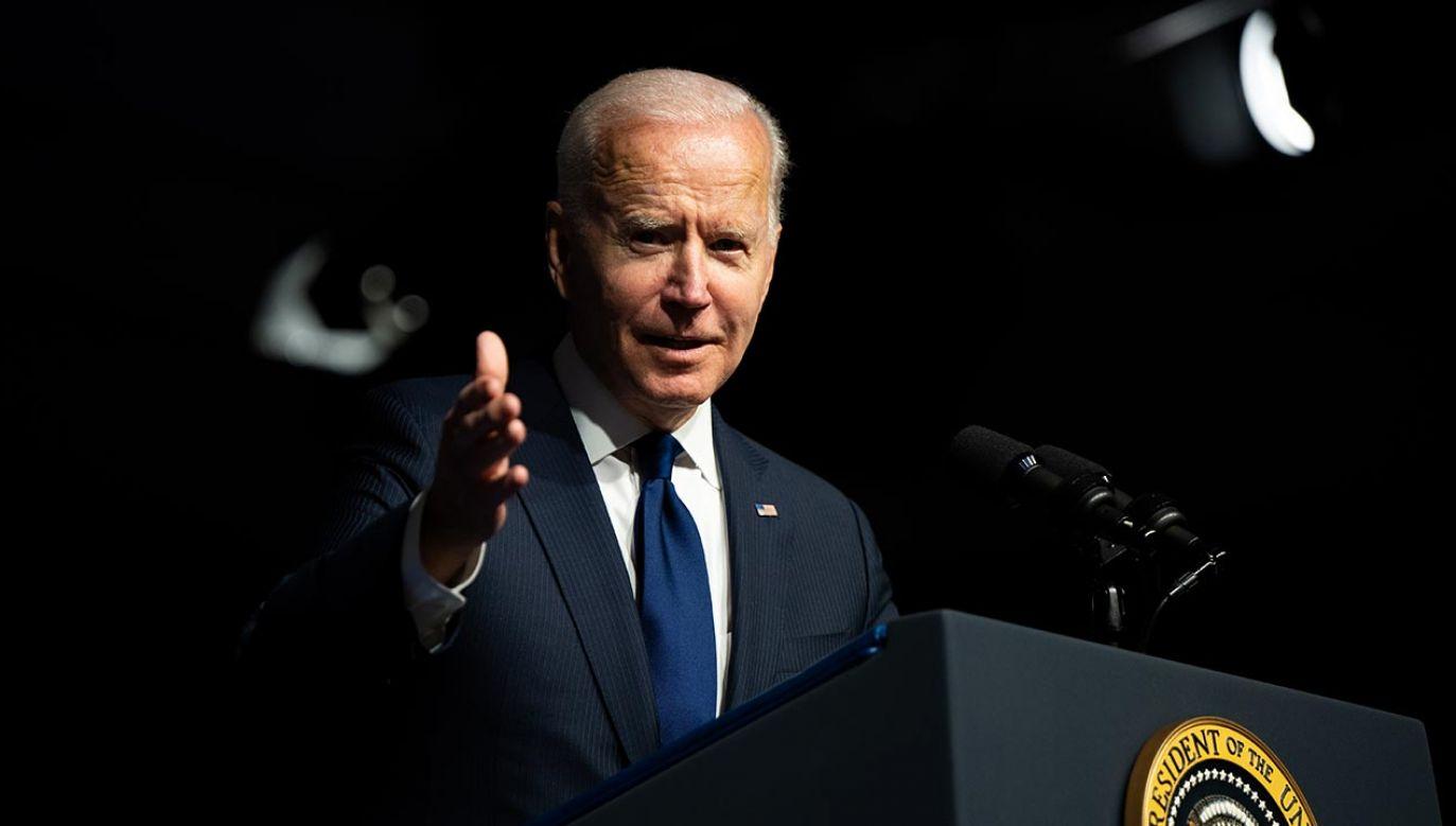 Joe Biden (fot. Brandon Bell/Getty Images)