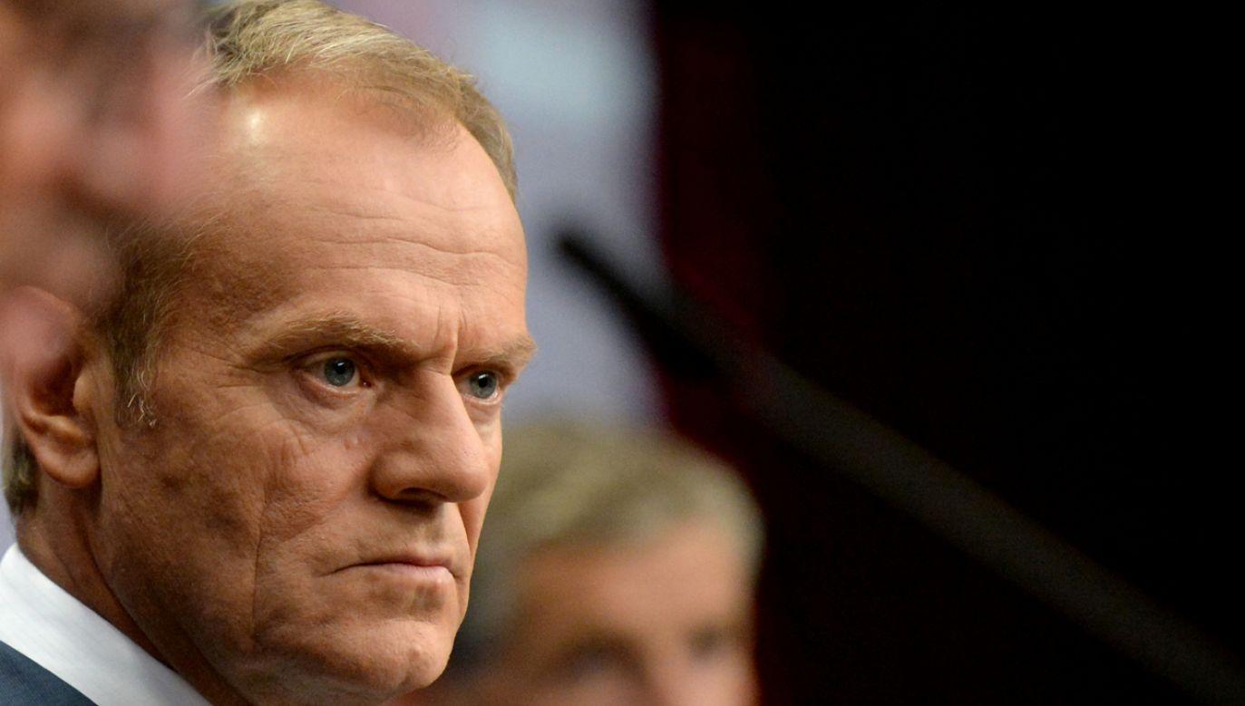 W wyborach parlamentarnych pomogę PO i PSL-owi – obiecał były premier (fot. Reuters/Johanna Geron)