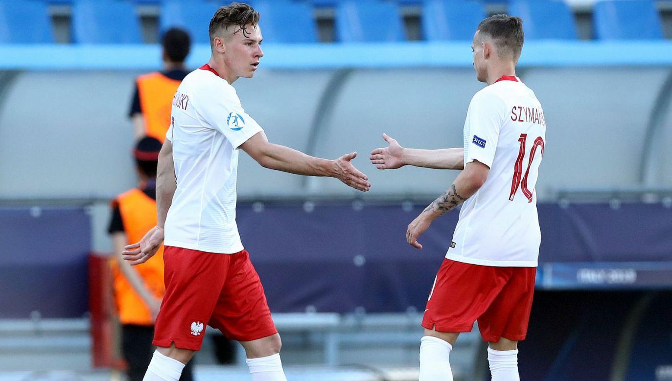 Szymon Żurkowski (L) i Sebastian Szymański po Euro U21 rozjechali się do nowych klubów (fot. Getty)