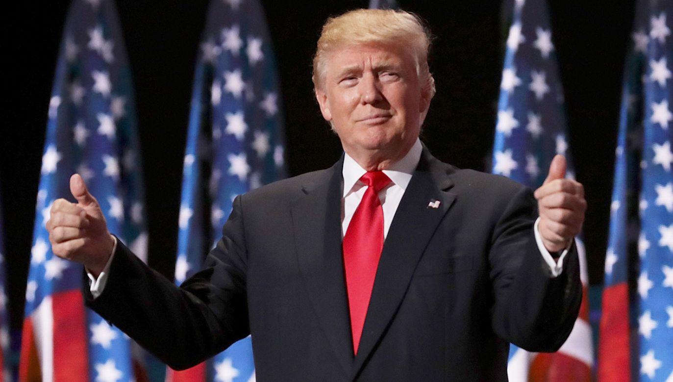 Donald Trump nie boi się przeciwstawiać środowiskom lewicowym (fot. Chip Somodevilla/Getty Images)