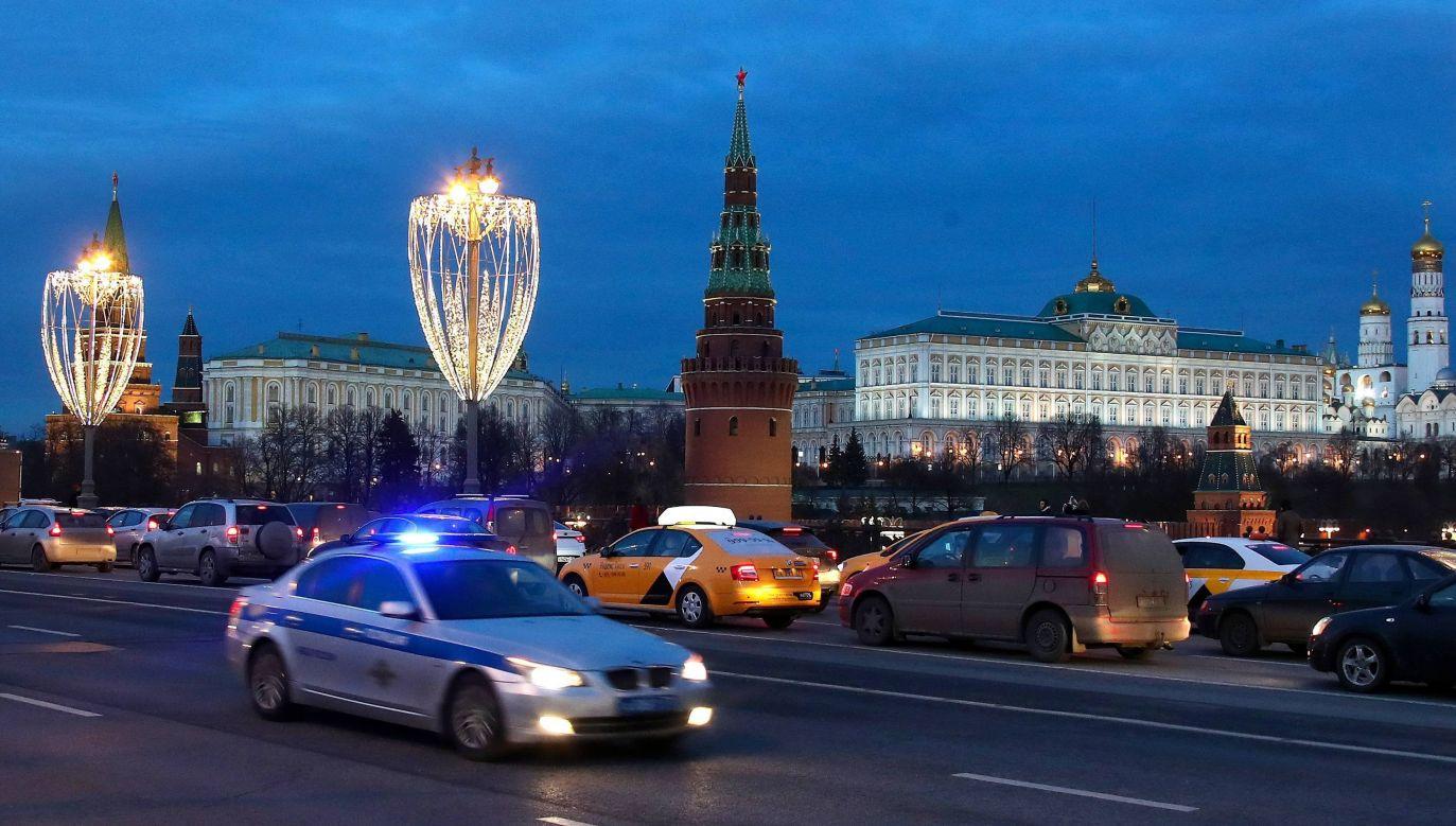 Mężczyznę zatrzymano (fot.PAParch/Valery Sharifulin/ITAR-TASS)