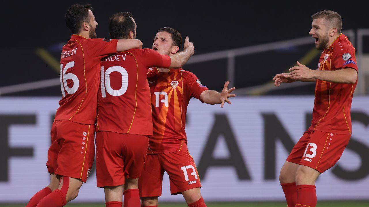 Każdy punkt na Euro będzie dla Macedończyków sporym sukcesem (fot. Alex Grimm/Getty Images)