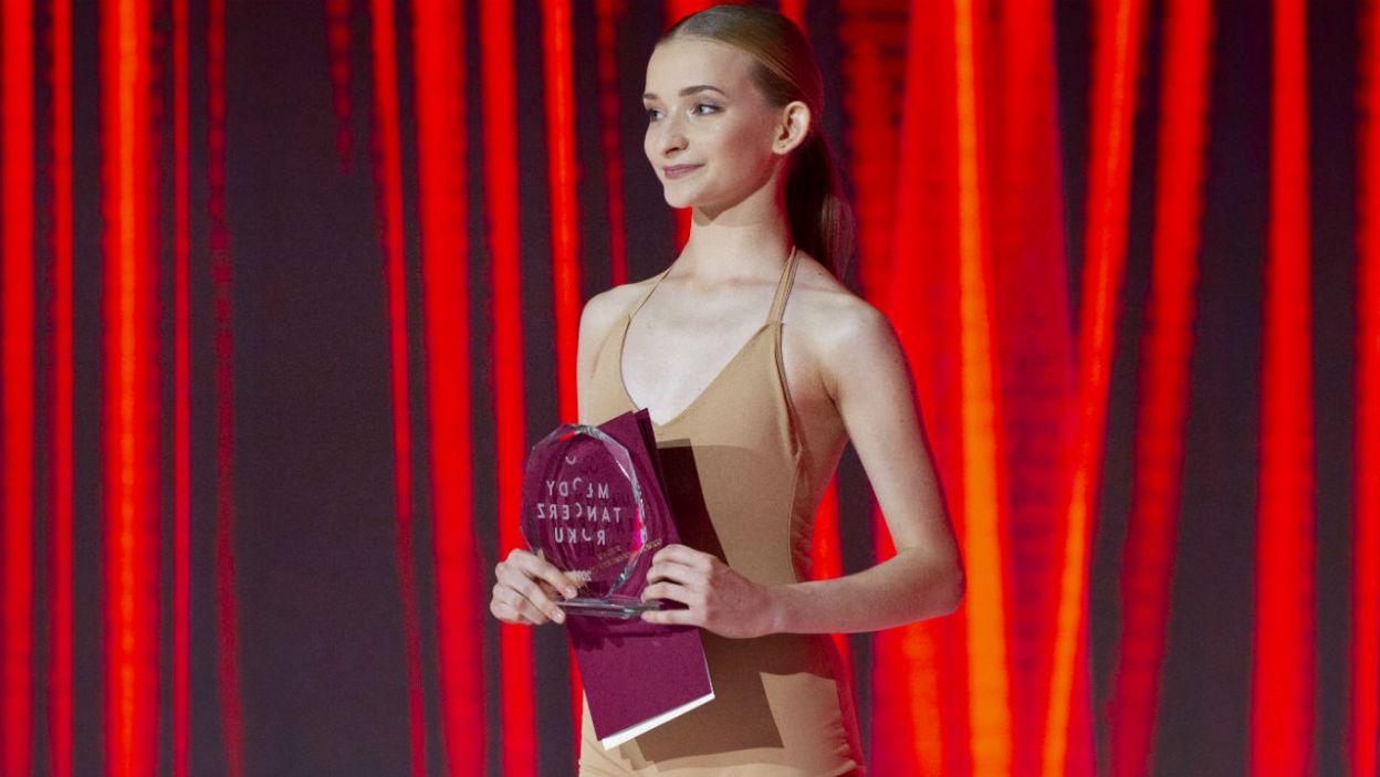 Tegoroczną laureatką konkursu została Julia Ciesielska (fot. N. Młudzik/TVP)