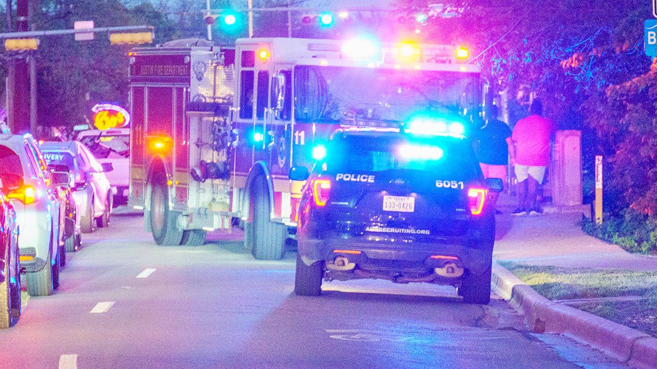 Na miejscu policja. Trwają poszukiwania napastnika (fot. Shutterstock)