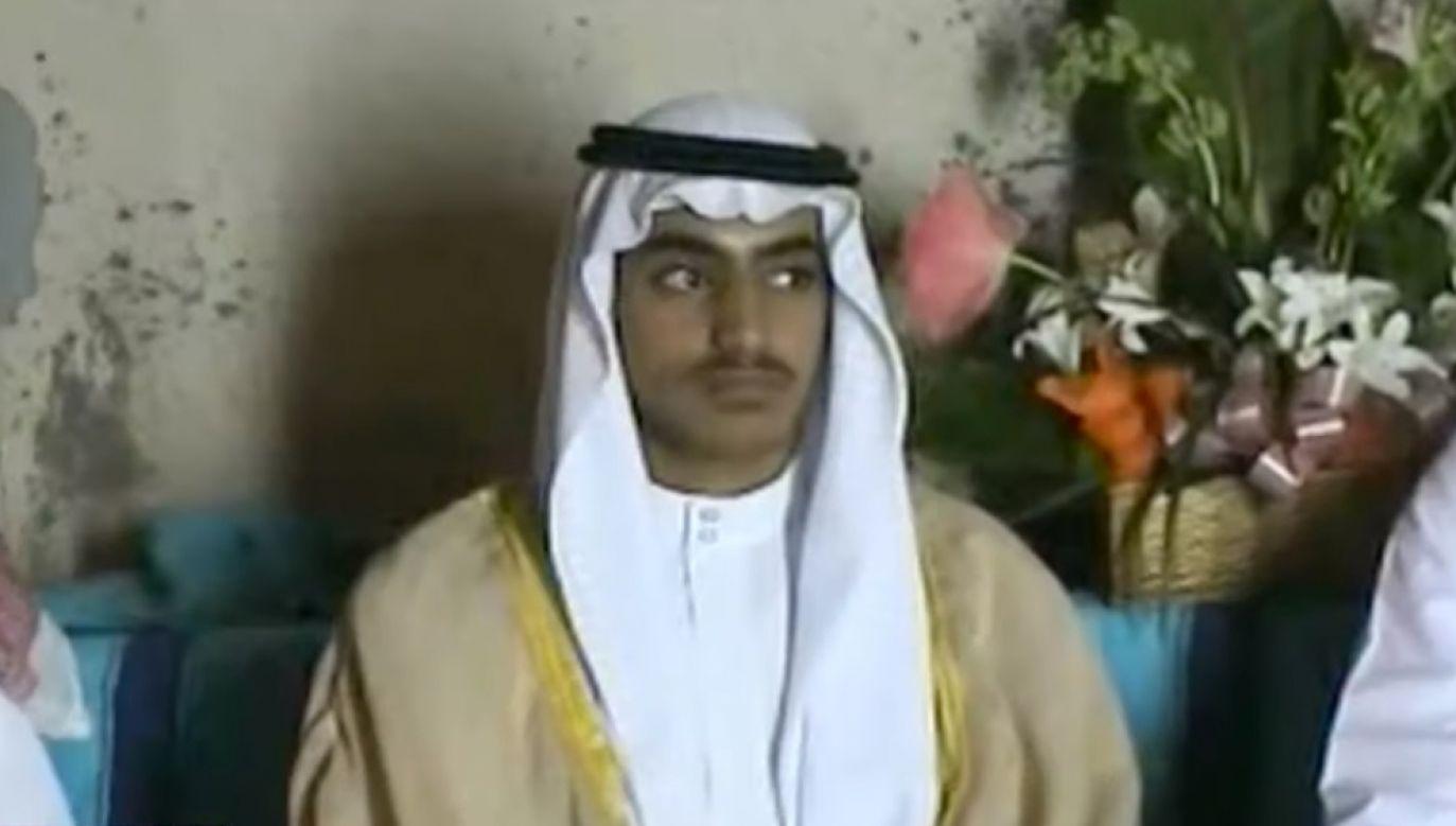 Na początku sierpnia amerykańskie media podały informacje o śmierci Hamzy, powołując się na anonimowe źródła (fot. Youtube/CBS Evening News)