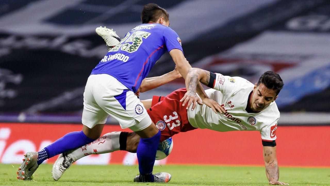Cruz Azul i Deportivo Toluca należą do najpopularniejszych drużyn w Meksyku (fot. PAP/EPA/Jose Mendez)