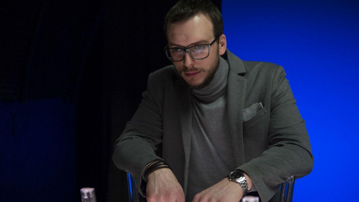 Ksawery Szlenkier stworzył postać Nieznajomego (fot. Natasza Młudzik)