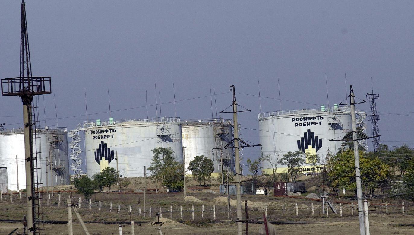 Wcześniej USA nałożyło sankcje na spółki Rosnieftu za handel wenezuelską ropą naftową (fot. Scott Peterson/Getty Images)