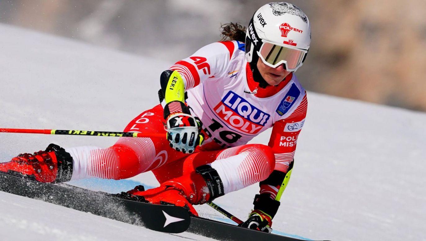 To od Maryny Gąsienicy-Daniel zależy, ilu alpejczyków z Polski zobaczymy na igrzyskach olimpijskich (fot. PAP/EPA)