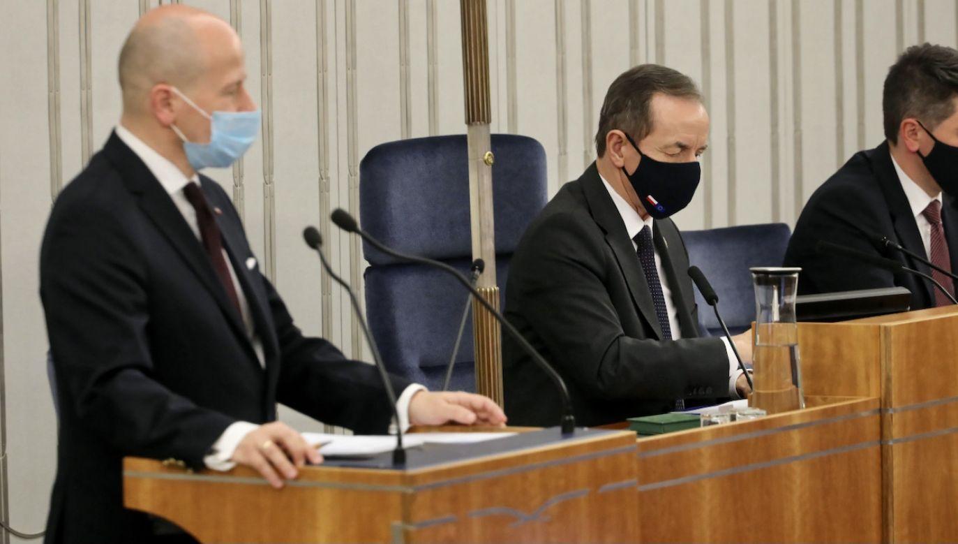 Senat zdecydował ws. RPO (fot. PAP/A.Zawada)