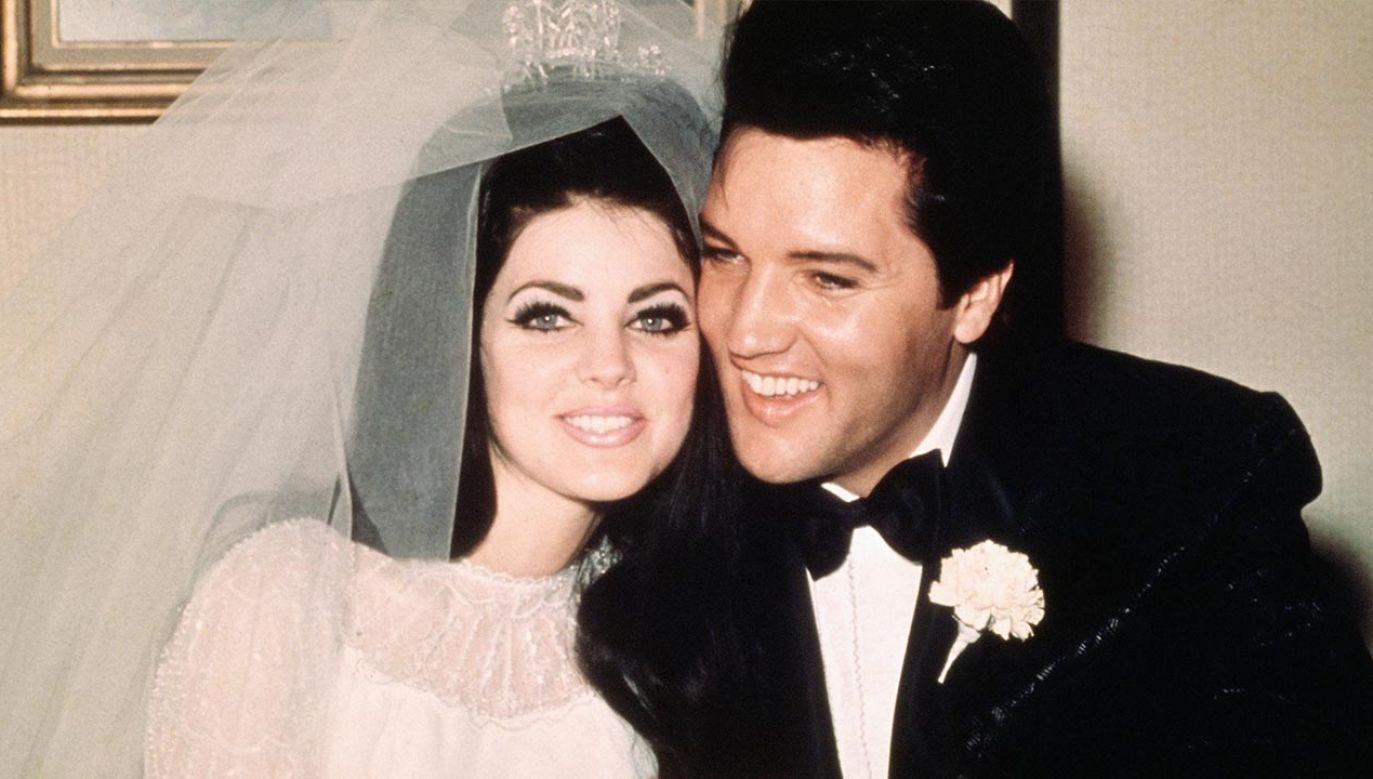 Priscilla i Elvis Presleyowie (fot. Getty Images)