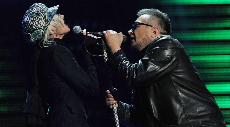 Wokalistka była gościem koncertu 30-lecia zespołu T.Love. Podczas jubileuszu w Opolu wystąpiła obok Muńka Staszczyka (fot.TVP)