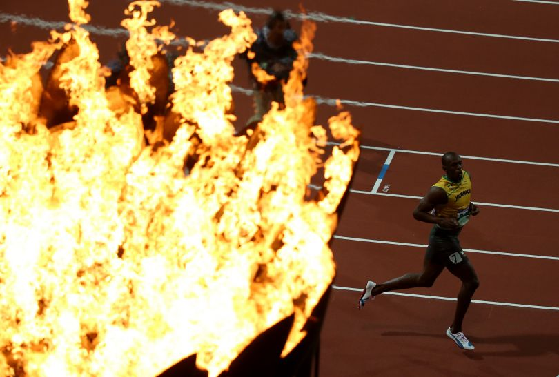 Bolt pobiegnie jeszcze na 200 m i w dwóch sztafetach (fot. Getty Images)