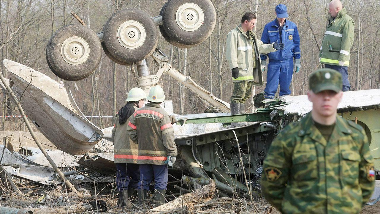 Film Ewy Stankiewicz pokazuje kolejne zaniedbania przy wyjaśnianiu katastrofy smoleńskiej (fot. PAP/EPA)