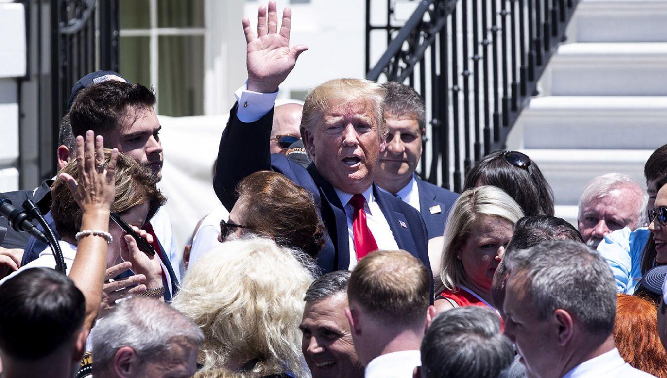 Liderzy pro-life spotkali się z prezydentem USA (fot. PAP/EPA/MICHAEL REYNOLDS)