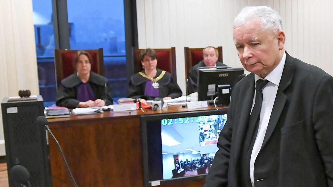 W czwartek Jarosław Kaczyński i Lech Wałęsa spotkali się w sądzie (fot. PAP/Adam Warżawa)