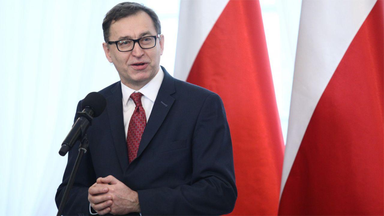 Dr Jarosław Szarek zwraca uwagę, że także w USA są przypadki zakłamywania polskiej historii (fot. PAP/Leszek Szymański)