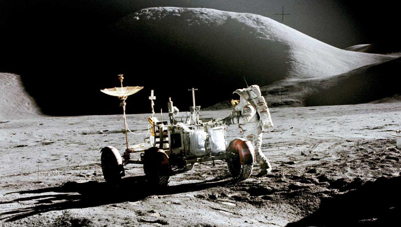 Ostatnia misja załogowa na Księżyc odbyła się niemal pół wieku temu (fot. NASA)