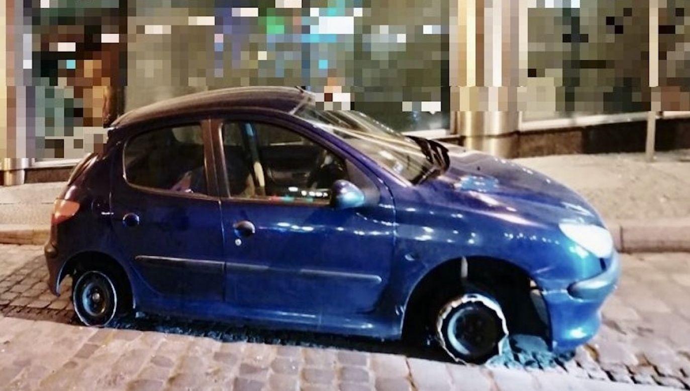 Zgłoszenie dotarło do policjantów około godziny 4 nad ranem (fot. Policja wrocławska)