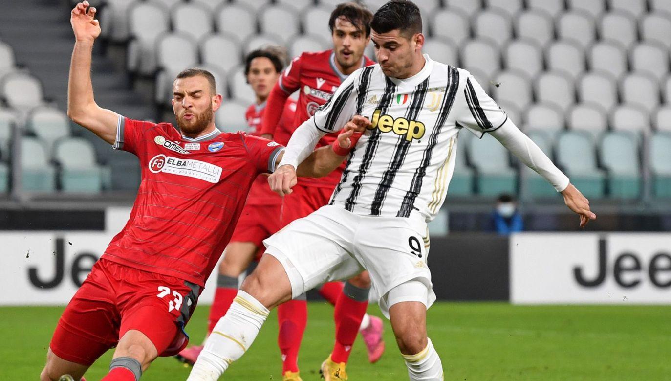 Juventus Turyn – SPAL. Transmisja meczu Pucharu Włoch na żywo online w TVPSPORT.PL