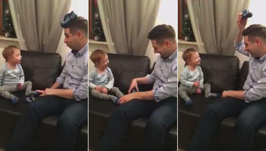 681248524 Patryk Jaki zamieścił poruszający film z synem w internecie - tvp.info