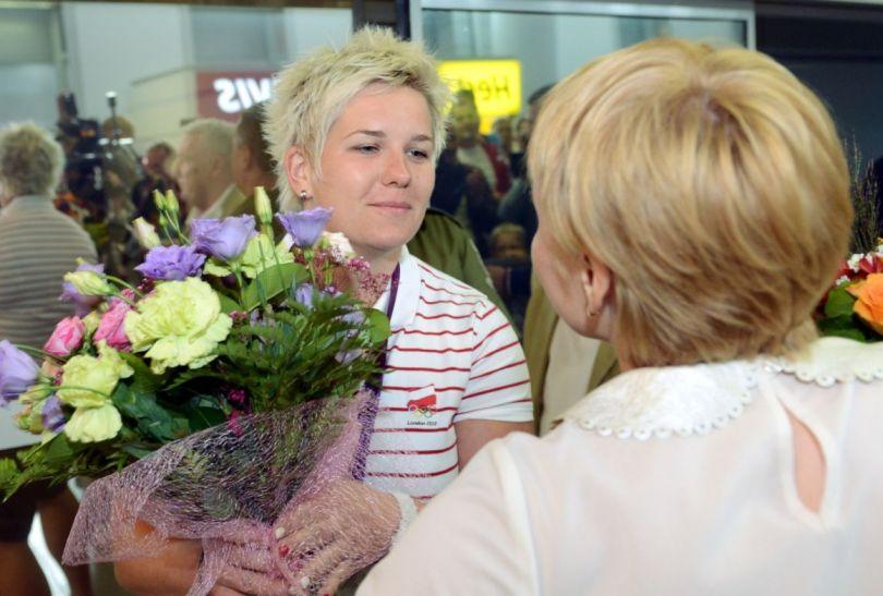 Anita Włodarczyk zdobyła srebrny medal w rzucie młotem (fot. PAP/Leszek Szymański)