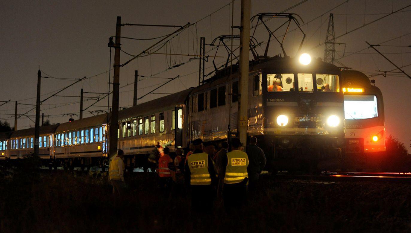 Ewakuowano około 200 osób (fot. arch.PAP/Bartłomiej Zborowski)