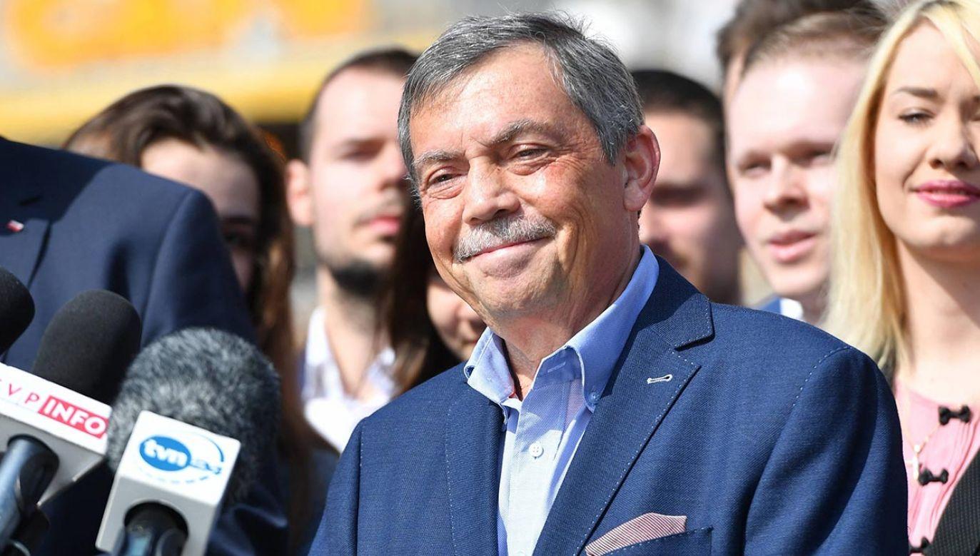 Bartłomiej Sochański (fot. PAP/Marcin Bielecki)