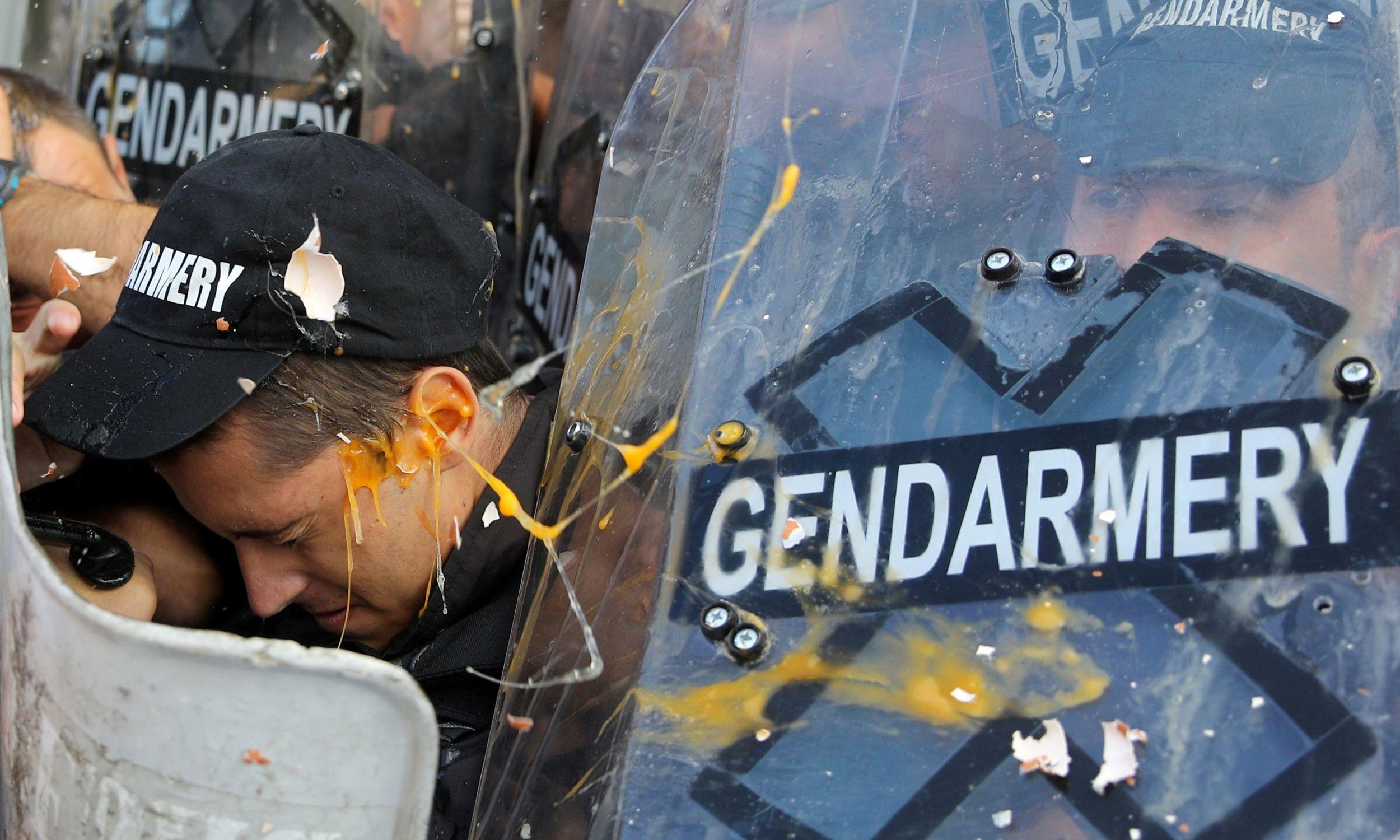 Ostatnio, protesty na ulicach Sofii eskalowały (2 września 2020 r.) Fot. REUTERS/Stoyan Nenov