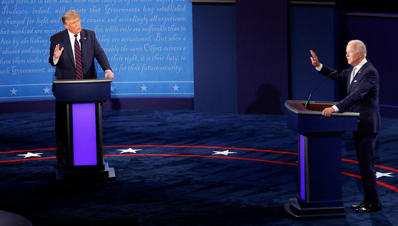 Wybory prezydencie w USA odbędą się 3 listopada (fot. REUTERS/Brian Snyder)