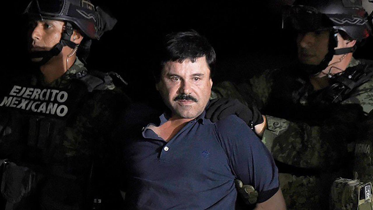 """Joaquin """"El Chapo"""" Guzman (fot. TT/EL INFORMANTE)"""