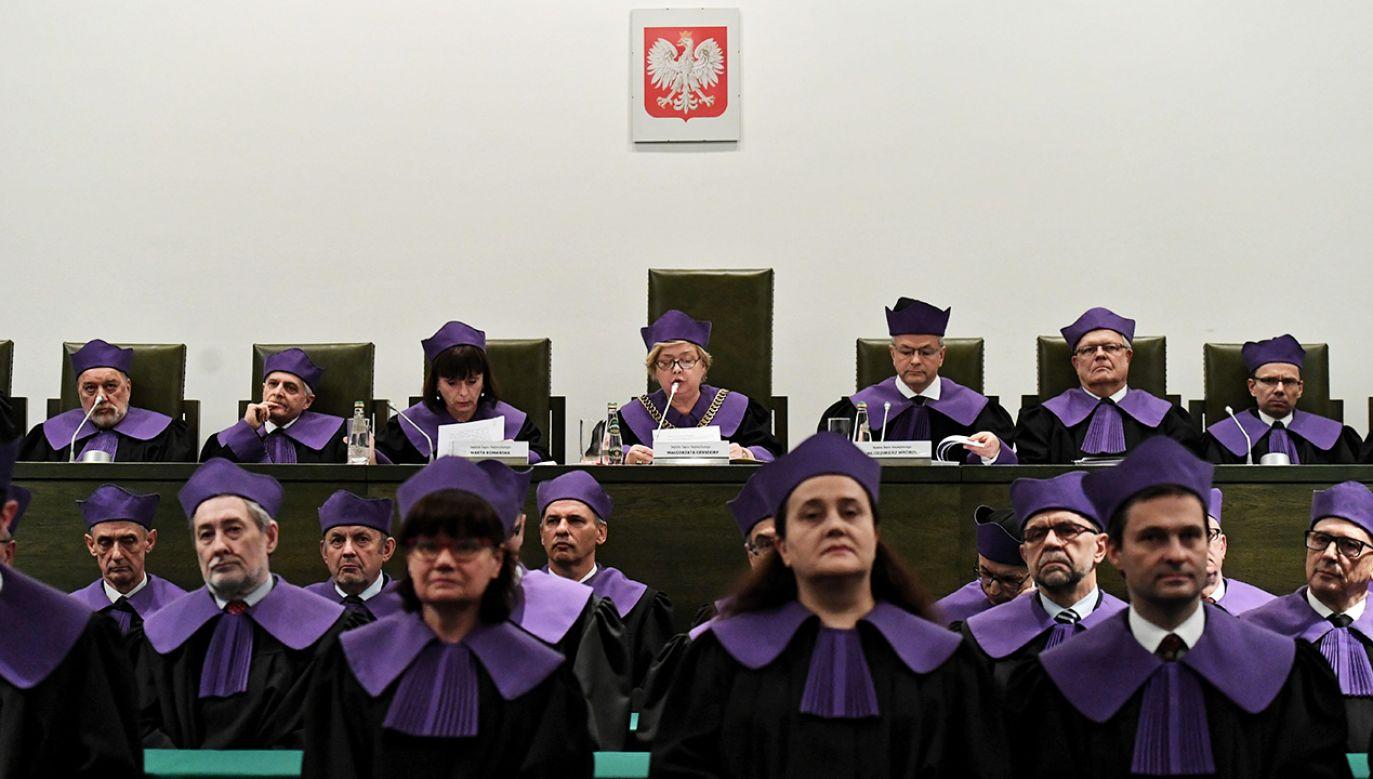 Posiedzenie trzech izb SN, w którym uczestniczyło ponad 60 sędziów, było niejawne (fot. PAP/Piotr Nowak)