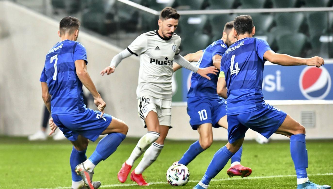 Legia – Karabach. Eliminacje Ligi Europy. Transmisja na żywo online w TVPSPORT.PL (fot. PAP)