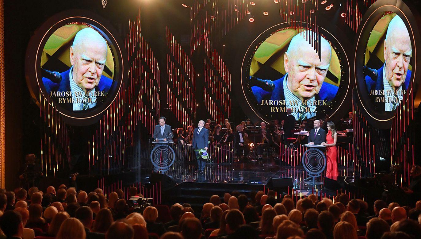 Gala w Teatrze Polskim w Warszawie (fot. PAP/Radek Pietruszka)