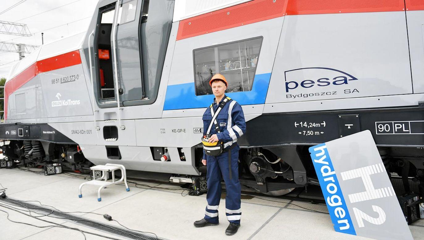 Powstały w Pesie pojazd to lokomotywa manewrowa (fot. PAP/Adam Warżawa)